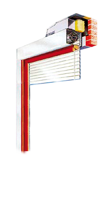 Cross Section of Roller Shutter